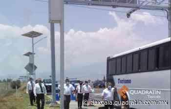 Transportistas piden apoyo a Gobierno Federal, protestan en la Amozoc-Perote - Quadratín Michoacán