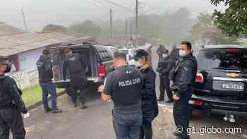 Dois suspeitos de homicídio em Imbituva são presos em operação policial - G1