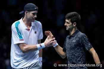 John Isner praises Novak Djokovic, Rafael Nadal and Roger Federer - Tennis World USA