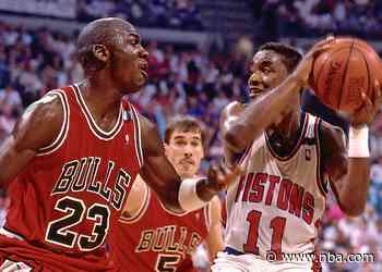 How the Michael Jordan Bulls and Isiah Thomas Pistons became the ultimate rivalry