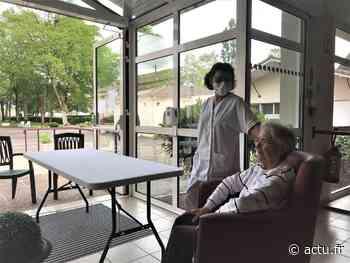 """Tonneins. Le droit de visite a repris à l'Ehpad """"Le Soleil d'Automne"""". - actu.fr"""