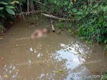 Encuentran dentro de un río el cuerpo de joven que fue degollado en Rosita - La Nueva Radio YA