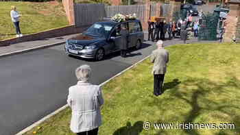Video: Mourners pay respects at Fr Fernando Carberry funeral - The Irish News