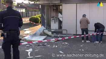 Polizei-Einsatz: Geldautomat in Herzogenrath gesprengt - Aachener Zeitung