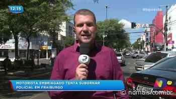 Motorista embriagado tenta subornar policial em Fraiburgo - ND