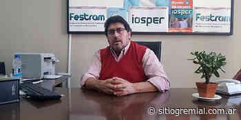 """Adrián Gómez cuestionó a profesionales que """"quieren sacarle plata a los trabajadores"""" - Sitio Gremial"""
