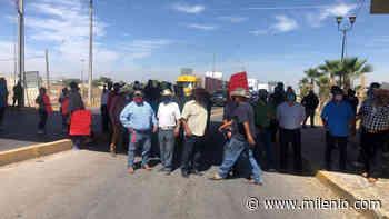 Vinateros bloquean carretera de Matamoros; denuncian abuso de autoridad - Milenio