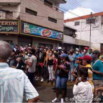 Protestas por comida y combustible en Punta de Mata, Río Caribe, Socopó y Guanare - Efecto Cocuyo