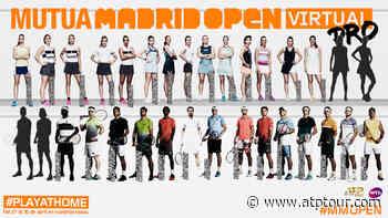 Dominic Thiem & Kei Nishikori To Compete In Mutua Madrid Open Virtual Pro - ATP Tour