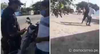 Alcalde de Ascope denuncia presunto abuso de autoridad de efectivo policial (VIDEO) - Diario Correo