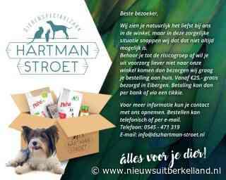 Bezorger van de dag: Dierenspeciaalzaak Hartman-Stroet Eibergen - Nieuws uit Berkelland