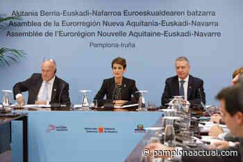 La Eurorregión Nueva-Aquitania Euskadi Navarra (NAEN)trabaja en respuestas adecuadas en materias de empleo, transporte, ciudadanía o sostenibilidad por el COVID-19 - - Pamplona actual