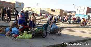 En Patacamaya realizan ferias todos los días pese a estar 'encapsulados' desde el 29 de marzo - EL DEBER