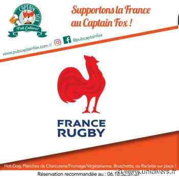 France – Irlande Captain Fox 14 mars 2020 - Unidivers