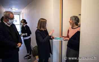 La mairie d'Eysines commence sa distribution de masques dans les maisons de retraite - Sud Ouest