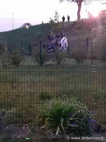 Deux voitures finissent dans un jardin à Sault-lès-Rethel - L'Ardennais