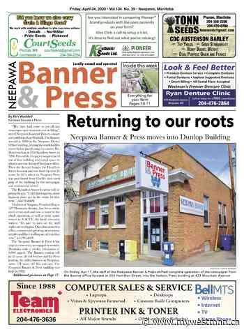 Friday, April 24, 2020 Neepawa Banner & Press - myWestman.ca