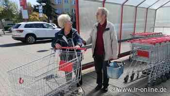 Handel entschuldigt sich: Blinder sollte in Elsterwerda eigenen Einkaufswagen schieben - Lausitzer Rundschau