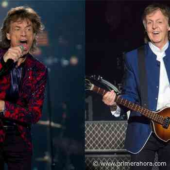 """Mick Jagger vs. Paul McCartney: """"Una banda todavía hace conciertos, la otra ya no existe"""" - Primera Hora"""