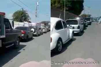Quíbor sometido por escasez de gasolina - La Prensa de Lara