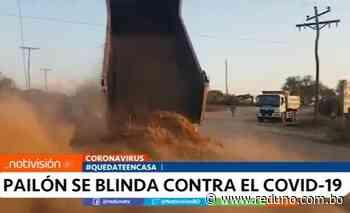 Pailón se blinda contra el coronavirus - Red Uno de Bolivia