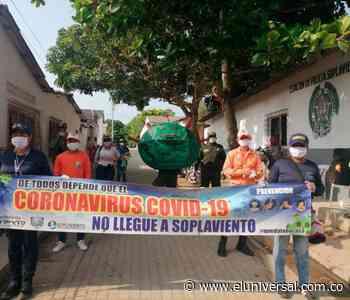 En Soplaviento hacen dramatizado para enseñar cómo evitar el coronavirus - El Universal - Colombia