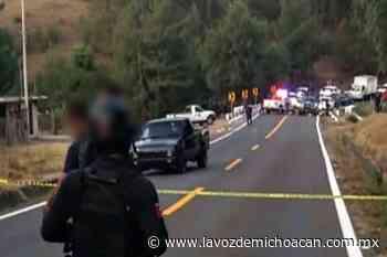 Emboscan a mando policial de Ciudad Hidalgo cuando se dirigía a Morelia - La Voz de Michoacán