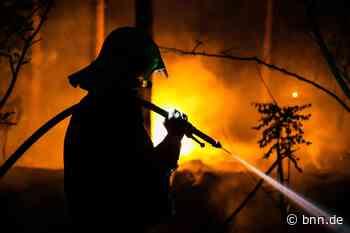 Unbekannte grillen nachts bei Gernsbach und verursachen fast einen Waldbrand - BNN - Badische Neueste Nachrichten