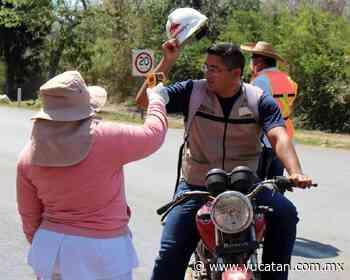 Menos accesos para entrar a Oxkutzcab - El Diario de Yucatán