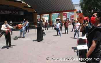 Manifestación de músicos en Tula - El Sol de Hidalgo