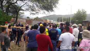 Morropón: denuncian que una turba impidió labores de desinfección en Salitral - Diario El Tiempo - Piura