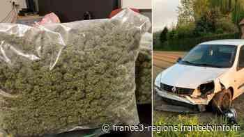 Laventie : il tente d'éviter les gendarmes et perd le contrôle de sa voiture, avec deux kilos de cannabis à - France 3 Régions