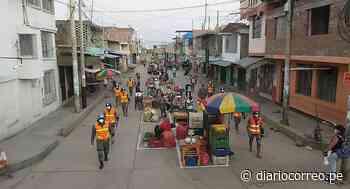 Chulucanas: Delimitan espacios para que ambulantes puedan vender sus productos - Diario Correo