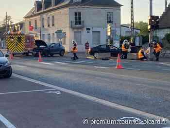 Un blessé léger dans une collision au carrefour de Cuise-la-Motte - Courrier picard
