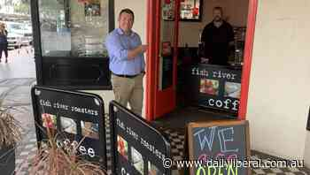 Dubbo MP Dugald Saunders says with COVID-19 slowing, businesses should soon reopen - Daily Liberal