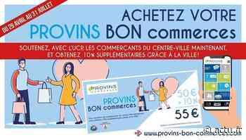Coronavirus en Seine-et-Marne. La Ville de Provins lance des bons d'achat pour soutenir les commerces - La République de Seine-et-Marne