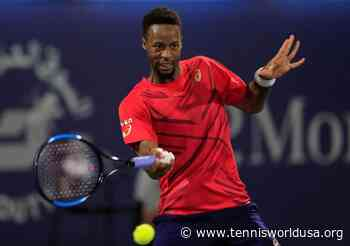 Paul Wesley on Gael Monfils: He's an unbelievable athlete and he's just a good guy - Tennis World USA