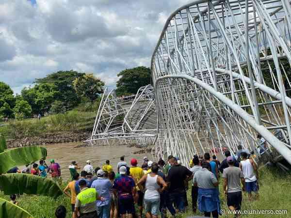 Alcaldesa de Colimes, en Guayas, dice que hace 8 meses alertó del deterioro de puente - El Universo
