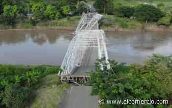 Puente del cantón Colimes colapsó este 22 de abril del 2020 - El Comercio (Ecuador)