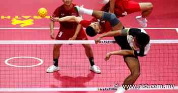 Thailand sepak takraw team spring to SEA Games gold - New Straits Times