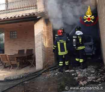 Incendio in un'abitazione a Polverigi. Sul posto due squadre dei Vigili del Fuoco – FOTO - Redazione ETV Marche