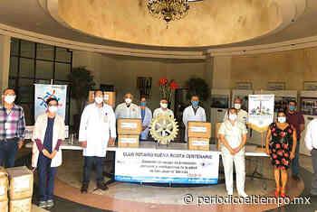 Club Rotario Centenario Nueva Rosita se suman a lucha contra Covid-19 - El Tiempo