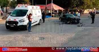Joven conductor se estrella contra tráiler en la carretera Tula-Victoria - Hoy Tamaulipas