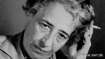 Warum ist Hannah Arendt heute Kult? - SWR