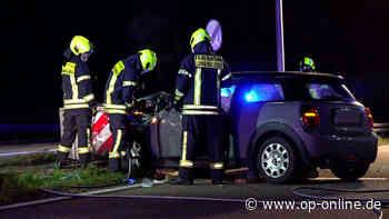 Frau (18) rast in Betonabsperrung: Sie ist schwer verletzt - op-online.de