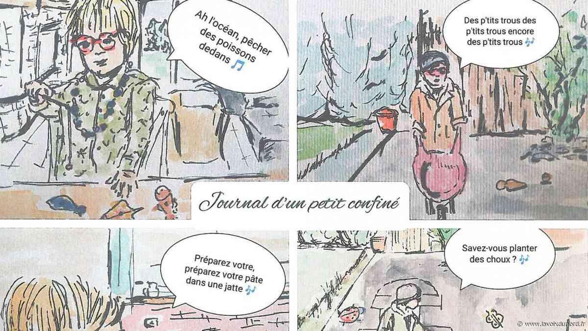 Bray-Dunes: le concours de textes et de dessins a bien occupé le confinement! - La Voix du Nord