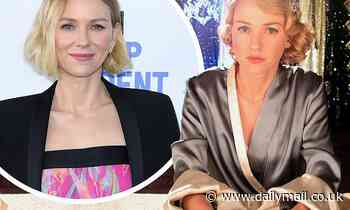 Naomi Watts admits she's been struggling in lockdown - Daily Mail