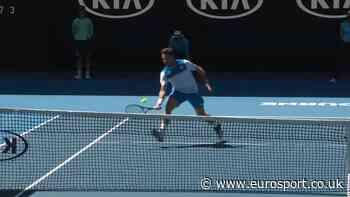 Australian Open 2020 video - A cheeky drop shot from Stanislas Wawrinka - Eurosport.co.uk