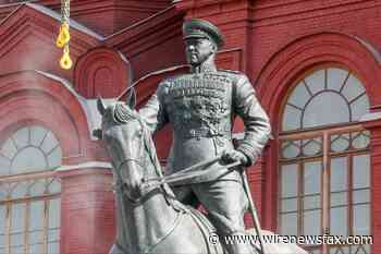 Renovated monument to Zhukov was returned to its historic place - Wire News Fax