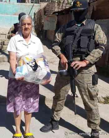 """Grupo delictivo """"Gente Nueva"""" entrega despensas a grupos vulnerables en Santa Barbara - Omnia"""